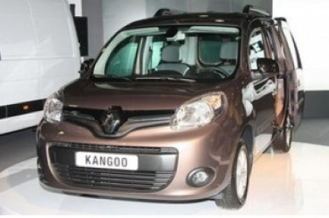 """Atnaujintas """"Renault Kangoo"""""""