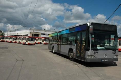 """Vilniaus viešajam transportui"" – dveji"