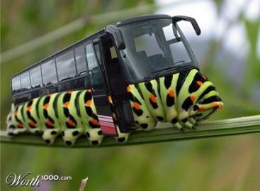 Fantazijos viešojo transporto tema