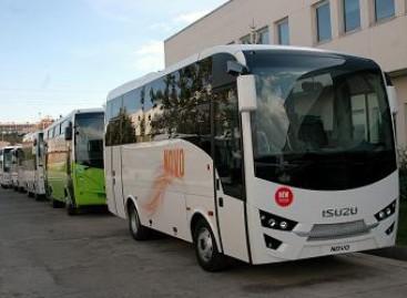 Keleivių vežėjai aplankė Isuzu gamyklą Turkijoje