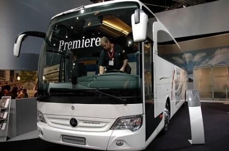 """Mercedes-Benz"" premjeros ""Busworld Europe 2013"""