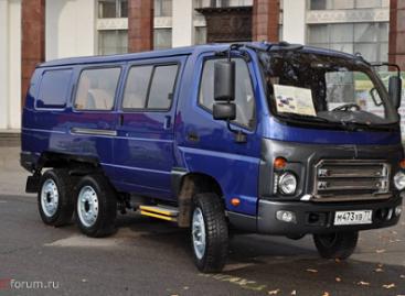 Mikroautobusas – bekelei