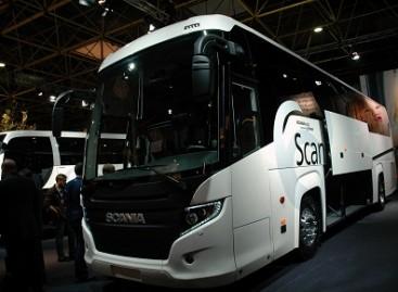 """""""Scania"""" naujovės """"Busworld Europe"""""""