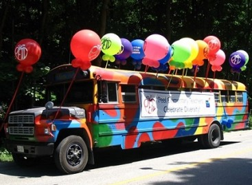 Neįprasti ir gražūs autobusai