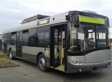 """Naujieji """"Solaris Urbino CNG"""" jau pasirengę kelionei į Vilnių"""