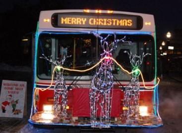 Kalėdiniai autobusai