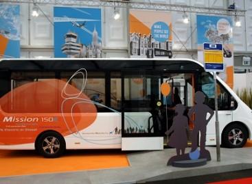 Autobusas – iš stiklo plastiko