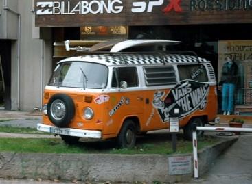"Brazilai grąžins į rikiuotę ""Volkswagen Kombi"""