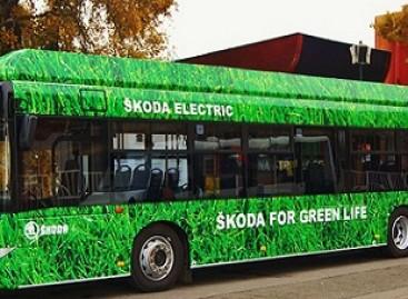 """""""Škoda"""" pristatė elektrinį autobusą"""