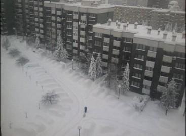 Žiemos atrakcionas: susirask savo automobilį