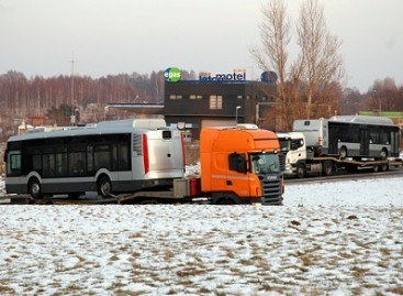 Lietuvoje – pirmieji nauji ispaniški autobusai