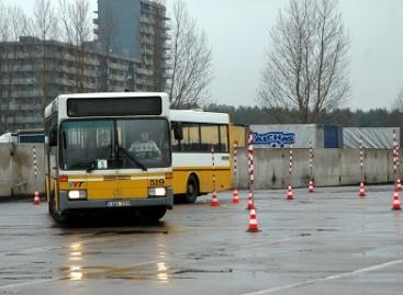 Žiemos trasoje paaiškėjo geriausi autobusų vairuotojai