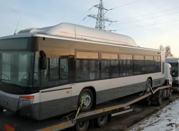 Vilniaus viešojo transporto darbuotojai mokosi prižiūrėti ispaniškus autobusus