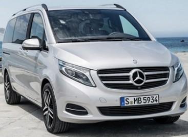 "Pristatytas ""Mercedes V-Class"" minivenas"