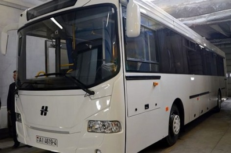 """Baltarusiai siūlo vilniečiams išbandyti """"Neman"""" autobusą"""