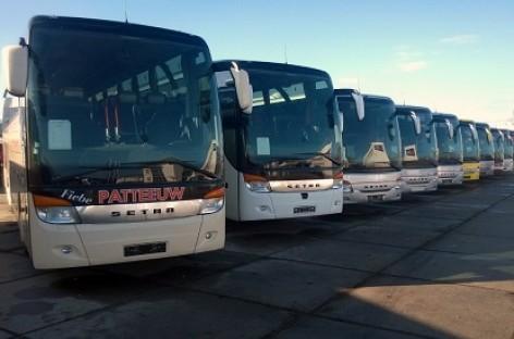 """Keleivių vežėjai lankėsi """"Setra"""" autobusų mugėje"""