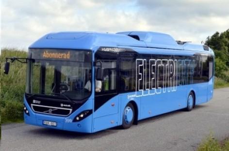 """Elektrinis """"Volvo"""" išvažiuos į Gioteborgo gatves"""