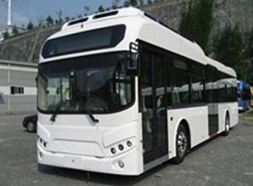 Japonai pristatė elektrinį autobusą