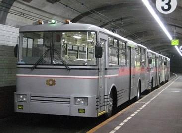 Japonijoje ir JAV važinėja požeminiai troleibusai