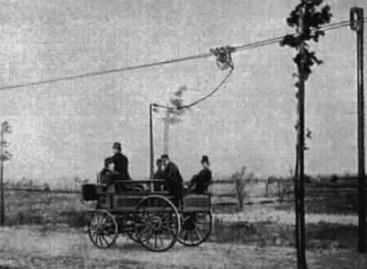 Pirmasis troleibusas buvo sukurtas Vokietijoje
