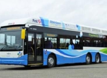 Didžiausias vandenilinių autobusų parkas – Škotijoje