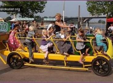 """Mokykliniai """"Bike bus"""" – sveikesniam gyvenimo būdui"""