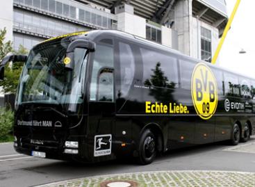 """Dortmundo """"Borussia"""" žaidėjams – naujas MAN autobusas"""