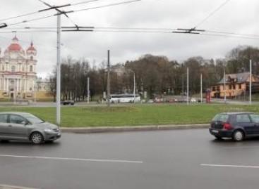 Sostinės Olandų žiedą planuojama rekonstruoti į šviesoforais valdomą sankryžą