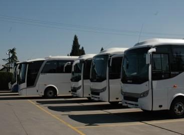 """Keleivių vežėjai apsilankė """"Otokar"""" gamykloje Turkijoje"""