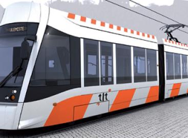 Pirmasis naujas tramvajus Taline pasirodys lapkritį