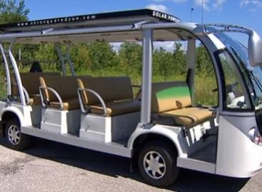 Autobusai, varomi saulės energija