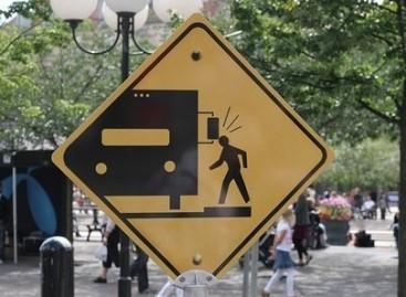 Įdomūs kelio ženklai