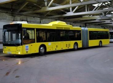 Baranovičiuose – naujos kartos MAZ autobusai