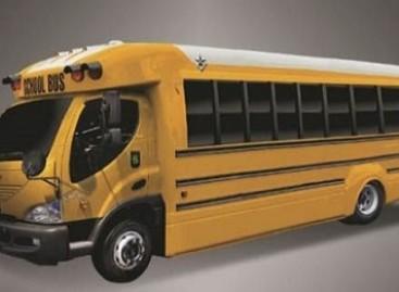 JAV mokiniai bus vežiojami elektriniais autobusais