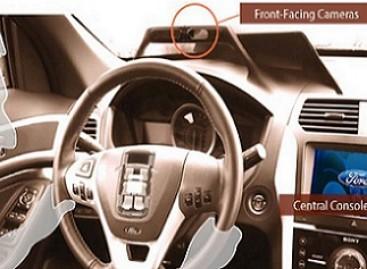 FORD automobiliai atpažins šeimininko veidą (video)