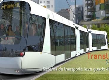 """""""Translohr"""" siūlo naują tramvajų"""