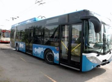 "LBus City Smile 12T"" troleibusas – Vilniuje"