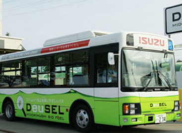 Autobusas, varomas… dumbliais