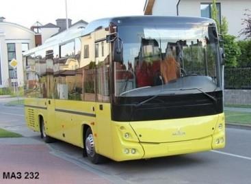 Baltarusijoje pristatytas MAZ 232