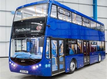 """""""Optare"""" pristatė naują dviaukštį autobusą Londonui"""