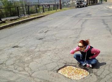 Gatvės duobių menas