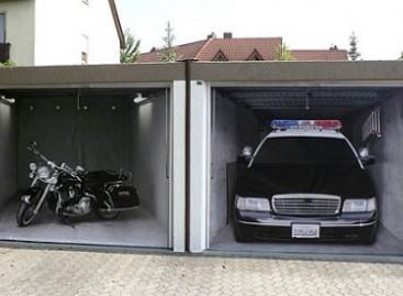 Originalūs garažo vartai
