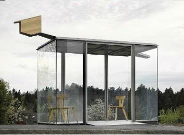 Originalios viešojo transporto stotelės