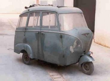 """""""Piaggio Ape Bus"""" – iš praėjusio amžiaus"""