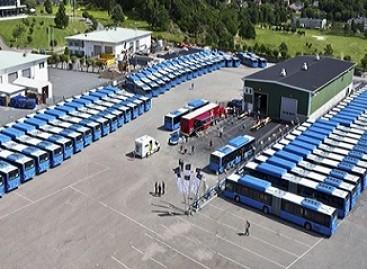 Geteborge – serviso centras biodujas naudojantiems MAN autobusams