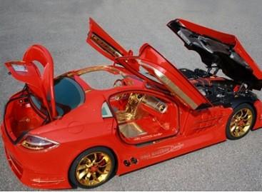 """""""Mercedes McLaren SLR"""" – už 10 milijonų dolerių"""