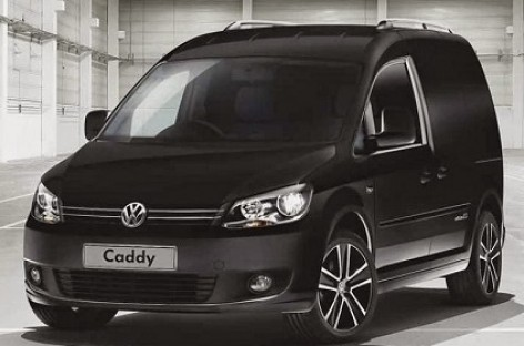 """Volkswagen"" naujovė: ""Caddy Black Edition"""