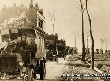Pirmojo Pasaulinio karo autobusas sugrįžta