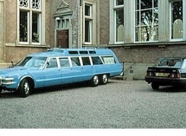 """Oldsmobile Toronado"" – futuristinis autobusas"