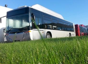 Į Marijampolės gatves išvažiuoja nauji autobusai